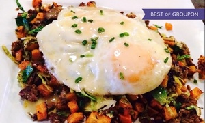 The Drop Bistro: $18for $28Worth of Brunch for Two or More at The Drop Bistro