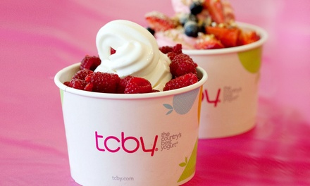 $9 for Two $9 Groupons, Each Good for Frozen Yogurt at TCBY ($18 Total Value)