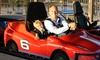 Paradise Park - Mulberry East: Unlimited Go Karting for One, Two, Four, or Eight at Paradise Park (Up to 55% Off)