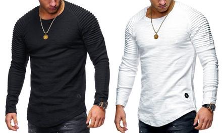 Mens Long-Sleeve T-Shirt