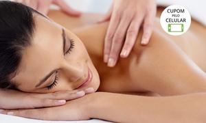 Clínica Kênia Saad: Clínica Kênia Saad – Setor Sudoeste: 1 ou 2 visitas com massagem relaxante e reflexologia podal