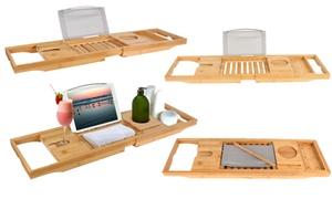 iMounTEK Bamboo Bathtub Tray