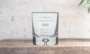 Tukupiszprezent.pl: Szklanka do whisky z grawerunkiem od 29 zł w Tukupiszprezent.pl (do -39%)
