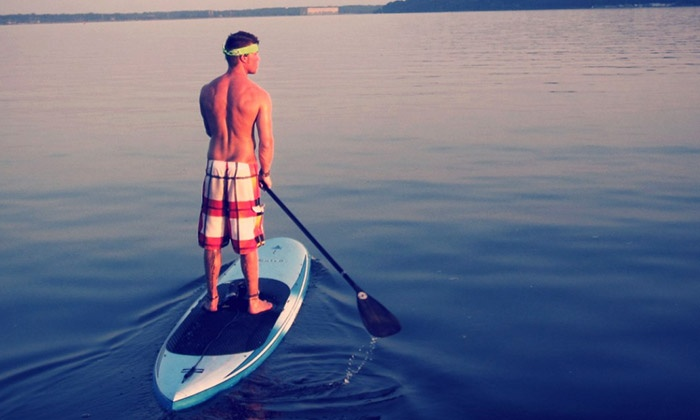 SUP St Louis - Valley Park: Standup-Paddleboard Lesson for One, Two, or Four from SUP St Louis (Up to 51% Off)