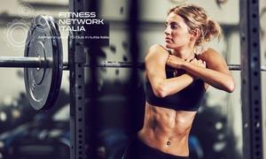 Fitness Network Italia: Fitness Network Italia - 10 o 20 ingressi (sconto fino a 80%). Valido in 24 sedi