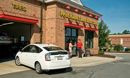 image for Premium Oil Change with <strong>Auto</strong>-<strong>Maintenance</strong> Package at Precision Tune <strong>Auto</strong> Care (Up to 76% Off)