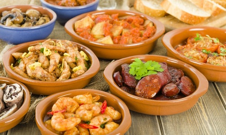 Choice of Six or 12 Tapas to Share with Drink for Two or Four at Loka Baristas, Leicester