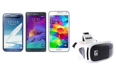 Refurbished* Samsung Galaxy S3 Mini, S5, Note/Note 2/Note 4, naar keuze met VRbril/gehard glas, incl. levering