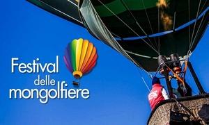Festival delle Mongolfiere, Ippodromo di Cesena: Festival delle Mongolfiere - A maggio all'Ippodromo di Cesena (sconto 28%)