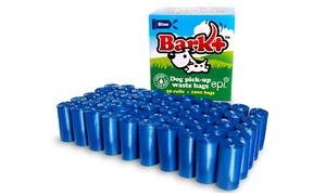Bark Plus Premium Poop Bags with Self-Tear Dispenser