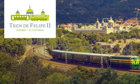 Viaje en el tiempo, recorre la historia desde Principe Pío hasta El Escorial en tren desde 10,95 € en Tren de Felipe II