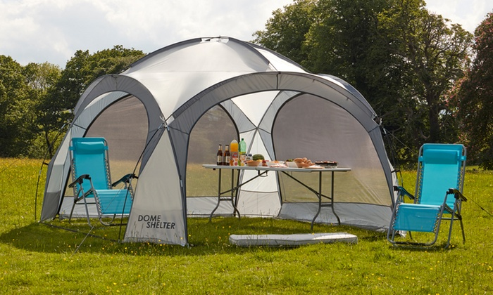 One or Two Dome Event Shelters With Free Delivery for £99.98