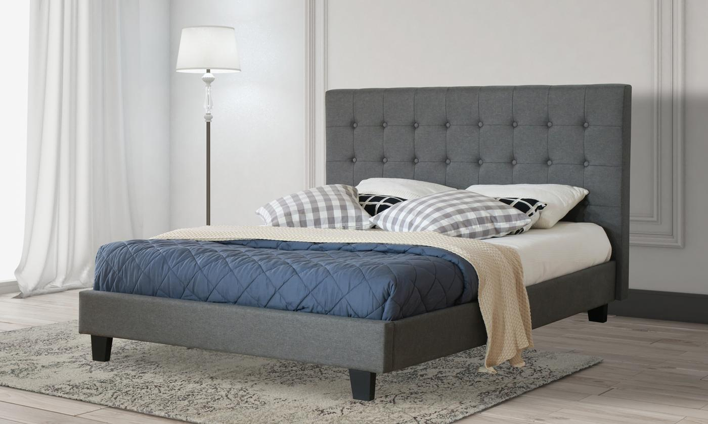 Amelia Bed Frame with USB with Optional Tobe Mattress