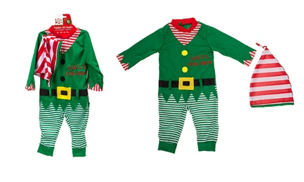 Toddler Elf Outfit