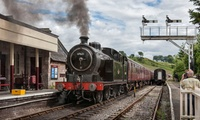 Churnet Valley Steam Railway Family Day Pass with Into the Blue (50% Off)