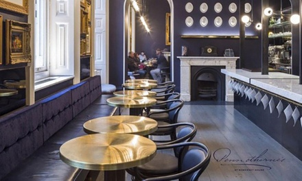 Cocktail Afternoon Tea for Two or Four at Pennethorne's Bar in Somerset House (36% Off)