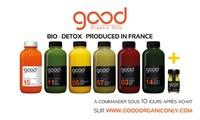 Jus pressés et cures detox 100% bio à -40% sur le site de Good Organic Only