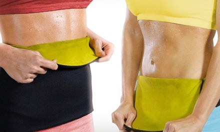 One or Two Sauna Fit Exercise Belts