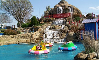image for Outdoor Attractions and Arcade Game Card at Mountasia Family <strong>Fun</strong> Park (Up to 44% Off)