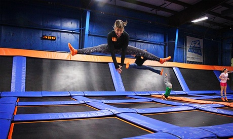 90-Minute Open Jump for Two or One Jump Arround Birthday Party for Up to 10 Jumpers at Sky Zone (Up to 36% Off) 5ecf785e-0ca6-465d-9fe3-749052593d92