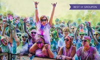 Color Vibe 5K Run, 23 September at Newhall, Edinburgh (Up to 39% Off)