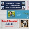 Up to 86% Off Custom Grommeted All-Weather Vinyl Banner