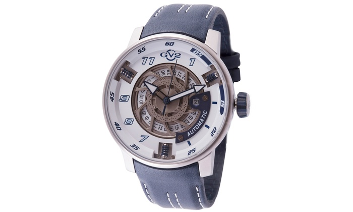 GV2 Motorcycle Men's Automatic Watch: GV2 Motorcycle Men's Automatic Watch