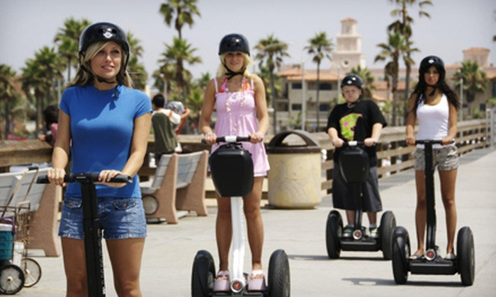 Balboa Fun Tours - Newport Pier: Two-Hour Balboa Peninsula Segway Tour for One, Two, or Four from Balboa Fun Tours (Up to 59% Off)