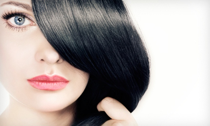 Magnolia Salon - Central Oklahoma City: One Keratin Treatment with Option for Haircut and Color or Two Keratin Treatments at Magnolia Salon (Up to 77% Off)
