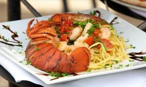 Massimos Italian Ristorante: Italian Dinner for Two or Four atMassimos Italian Ristorante (Up to 40% Off). Three Options Available.