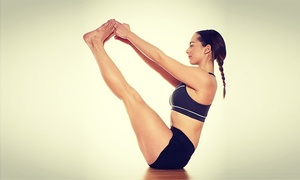 Laced Fitness: 10 or 20 Yoga and Yoga Body-Sculpting Classes at Laced Fitness (Up to 82% Off)