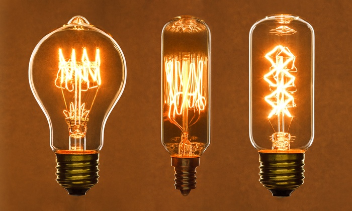 Antique-Style Light Bulbs | Groupon Goods:Antique-Style Filament Light Bulbs (6-Pack): Antique-Style Filament,Lighting