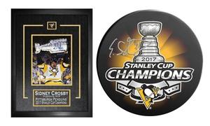 Pre-Order: NHL Penguins Stanley Cup Champions Autographed Memorabilia