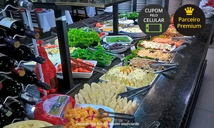 Boi Branco: Boi Branco – Raposo Tavares km 105: almoço ou jantar com buffet self-service com carnes na chapa e sorvete à vontade