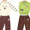 Sweet and Soft Infant Boys' Sweater Vest and Pants