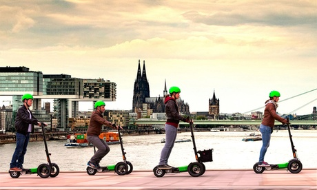 60, 90 oder 120 Min. geführte Scuddy Stadt-Tour für bis zu 4 Personen mit Scuddy.tours in Raum Ulm