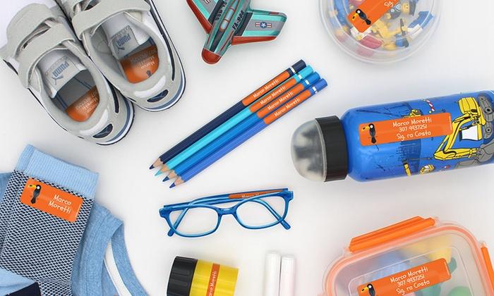 Adesivi Per Mobili Bambini : Adesivi personalizzabili stickerkid adesivi per bambini