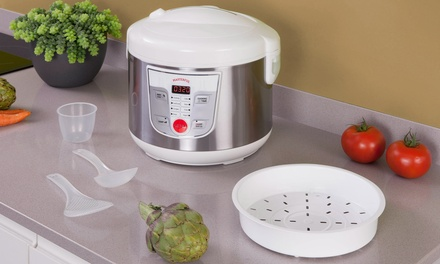 New Chef Nine-in-One 5l Multi Cooker with Recipe Book