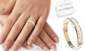 Bague gold filled pour femme
