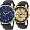 Invicta I-Force Men's Leather Chronograph Watch