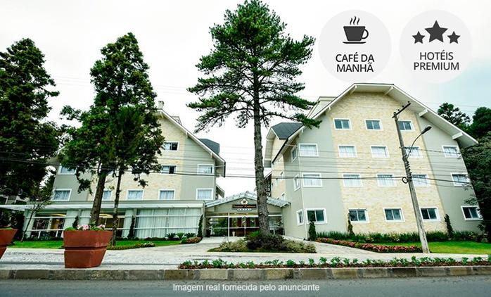 Gramado/RS: até 7 noites para 2 pessoas + café da manhã (opções em feriados) no Encantos Hortensias Hotel