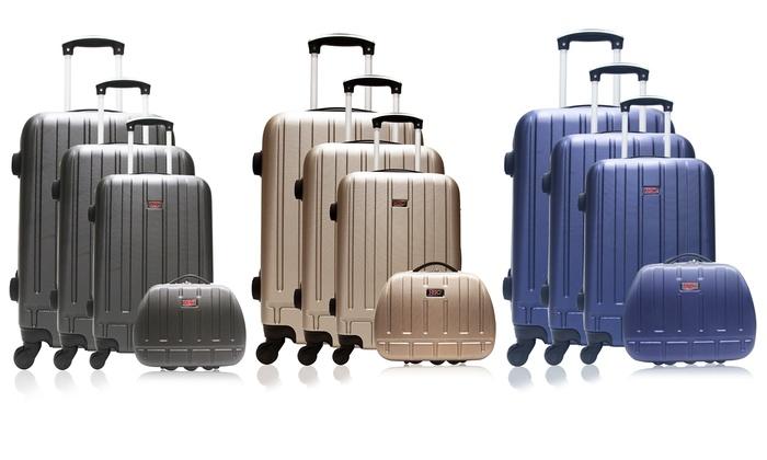 f016f674a Set de 3 maletas y neceser Hero | Groupon