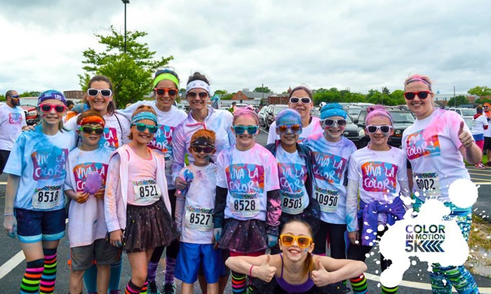 Color in motion 5k houston coupon