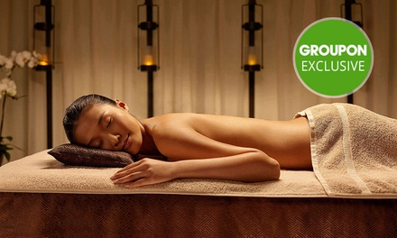 $299 for Couples Pamper Package with Wine at Chuan Spa (Up to $667 Value)