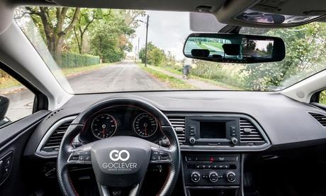 Sensor de aparcamiento con cámara de visión trasera GoClever