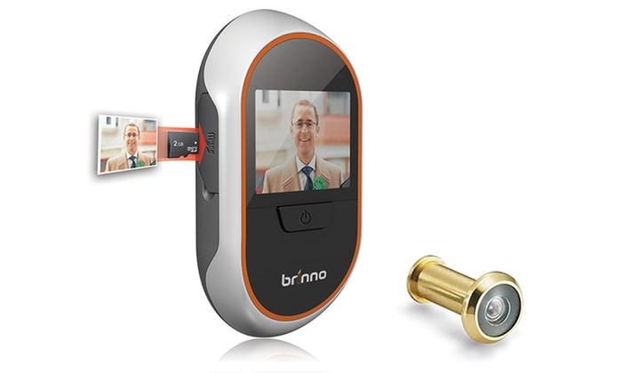 ... Brinno Digital PeepHole Door Viewer And Recorder: Brinno Digital PeepHole  Door Viewer And Recorder With