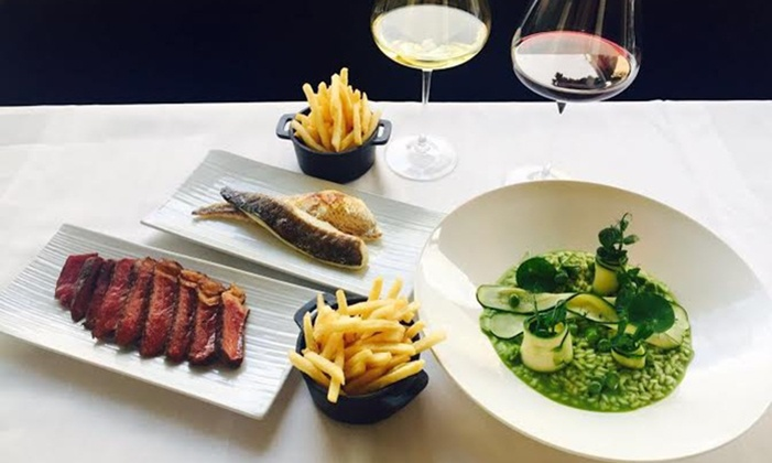 RESTAURANT MICHAEL NADRA - Restaurant Michael Nadra: 2AA Rosette Steak Meal and Wine, Primrose Hill