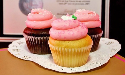 One or Two Dozen Mini Cupcakes at The Cupcakery (Up to 40% Off)