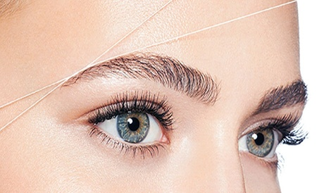 One Eyebrow Threading Session with Optional Upper Lip Threading Session at Golden Beauty & Brow (Up to 50% Off) 85916ef0-f43d-4014-bf1b-3298ed621661