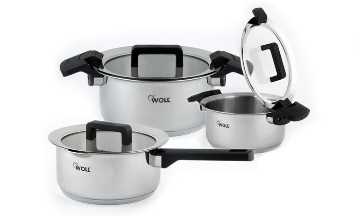 Woll Stainless Steel Cookware Set Groupon Goods